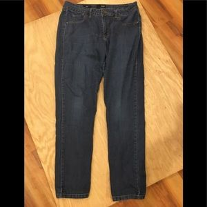 Ana Blue jeans skinny size 12/31 inseam high rise